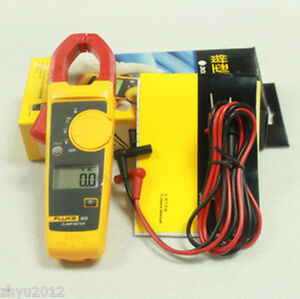 New Fluke 303 Clamp Multimeter Ac dc Handheld 600a 30mm 4000 With Backlight
