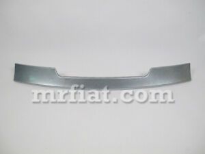 Alfa Romeo Spider Middle Lower Front Spoiler Plate 1983 89 Oem New