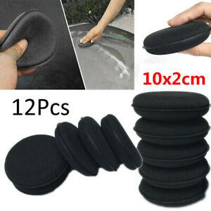 Foam Polishing Pad Detailing Accessories Round Tools Supplies Cleaning