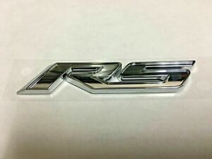 11 12 13 14 15 Cruze Rs Front Door Emblem Chrome New Oem Genuine