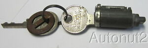 1949 1950 Mercury 1949 Lincoln Trunk Lock With 2 Keys Original Nos