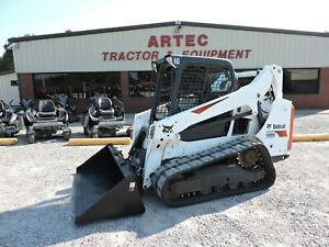 2016 Bobcat T590 Skid Steer Loader Watch Video Orops Only 1762 Hours