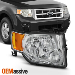 Fit 2008 2009 2010 2011 2012 Ford Escape Passenger Side Headlight Replacement