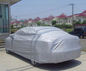 Outdoor Car Cover Clothes Protector Guard For Scratch Dust Sun Uv Heat Rain Snow