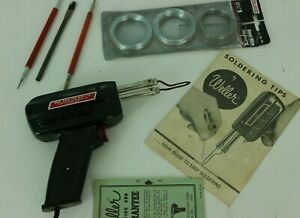 Weller 8200 n Electric Soldering Gun With Steel Wire And Extras