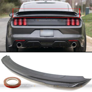 Gloss Black Track Pack Style Rear Trunk Wing Spoiler For 15 18 Mustang 2dr Coupe