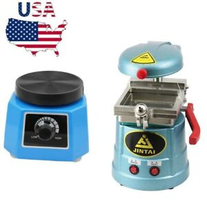 Dental Lab Vacuum Forming Molding Machine Former 600w Heating Thermoforming