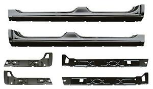 Rocker Panel Inner Rocker Kit For 02 07 Chevy Silverado Sierra Tahoe Crew Cab