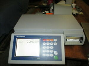 Mettler Toledo Impact S Pact s Dead Deck Scale Printer Remote Load Cell