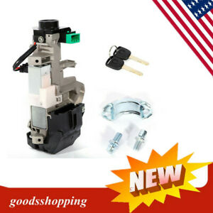 Fit For Honda Accord Civic Ignition Switch Assembly Cylinder Lock Auto Trans Kit