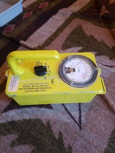 The Victoreen Instrument Co Ocd Cdv 715 Geiger Counter 5c