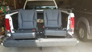 Two Mercedes Ml350 3rd Third Row Rear Seats