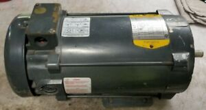 Baldor 1 Hp Electric Dc Motor 180 Vdc 1750 Rpm 56c Frame 5 8 Dia Cd5318