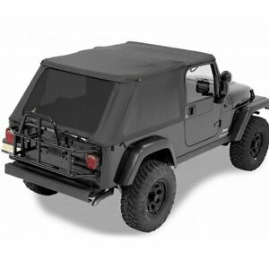Fits Jeep Wrangler Tj 97 06 Lj 04 06 Black Diamond Tops Soft 58221 35