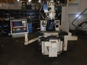 Moore Nasa 3 Cnc 4 Axis Jig Grinder Ags3 Fagor 80 30 Control With Video