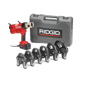 Ridgid Rp 340 Propress Kit 1 2 2 Ac 43373 Corded Press Tool 1 2 2