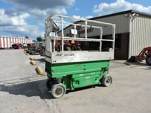 2008 Jlg 2030es Scissor Lift Electric Good Condition Only 322 Hours