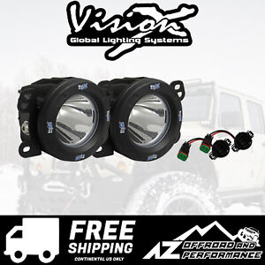 Vision X Vspec Upgrade Fog Light Kit For 10 18 Jeep Wrangler Jk 9154756