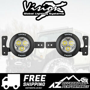 Vision X Vspec Upgrade Fog Light Kit For 18 Jeep Wrangler Jl 5504184