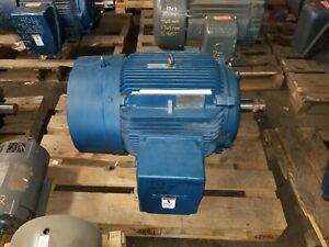 New Siemens 40 Hp Electric Motor 460 Vac 1185 Rpm 3 Phase 364t Frame Rgzeesd