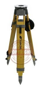 Topcon Tp 15 Heavy duty Fiberglass Tripod surveying trimble sokkia gps robotic