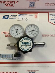 Airgas 400 Psi Single Stage Regulator High purity Stainless Steel Y11 s727b