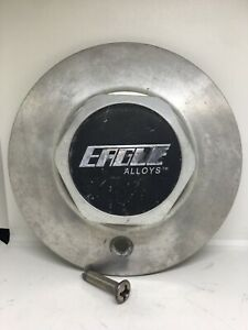 2 Eagle Alloys Wheels Metal Custom Center Cap 6 3 4 Inches Gw15
