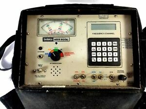 Used Sadelco 600b Digital Meter For Parts Or Repair