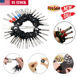 18 36ps Wire Terminal Removal Tool Car Wiring Crimp Connector Extractor Pin Kit