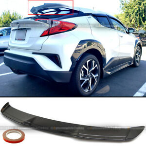 Fit 17 18 19 Toyota C Hr Chr Jdm H Style Gloss Black Rear Roof Wing Spoiler