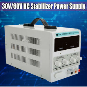 60v 10a Dc Power Supply Voltage Digital Stabilizer Variable Adjustable Regulator