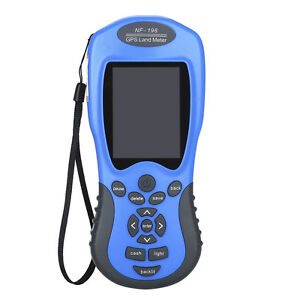Nf 198 Gps Land Meter Area Measure Value 2 8 Display Land Survey For Mapping Us