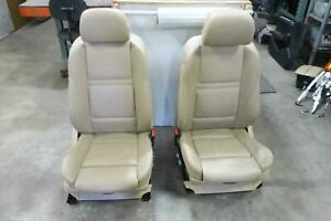 2008 Bmw X5 Front Seat Set Bucket Leather Electric Sport Oem