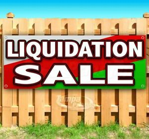 Liquidation Sale Advertising Vinyl Banner Flag Sign Many Sizes Available Usa