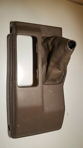 95 00 Toyota Tacoma Pickup 4wd Automatic Floor Shifter Console With Boot Tan Oem