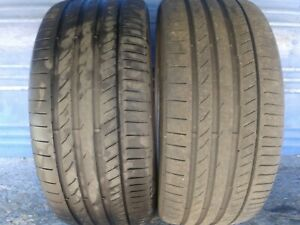 2 Continental Sport Contact 5p 275 35 21 Audi With 6 6 75 32nd Tread Left 103 Y