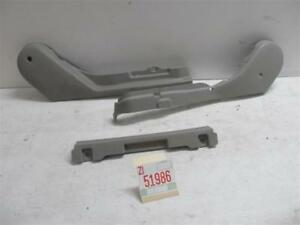 2000 2001 Maxima Right Passenger Front Seat Lower Trim Molding Garnish Cover Gry