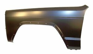 Fits Jeep Cherokee Xj Black Fender Front Left 55235227