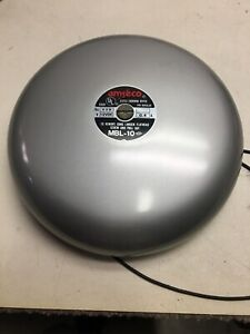 Amseco Fire Alarm Gong Bell Mbl 10
