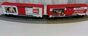 K-Line O Gauge Coca Cola Christmas 1991,K-6447 Box cars (Set of 2)