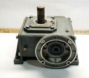 Dayton Cast Iron C face Speed Reducer 1 5 Hp 58 Rpm Output 1206 In Lb 4z733c