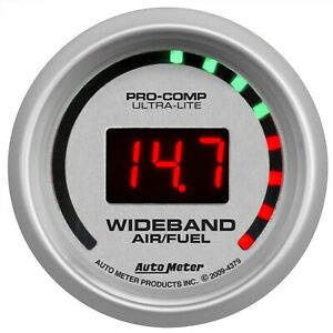 Autometer Ultra Lite Wideband Afr Gauge 10 1 17 1 52mm