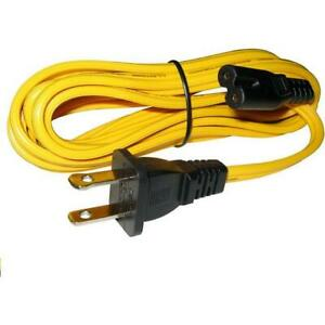 Battery Saver Universal 2 Prong 10 Ac Power Cable 2580