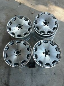 4 19 Riverside Traffic Star Dtx Wheels 5x114 3 Staggered 19x8 19x9 Jdm Vip Rare