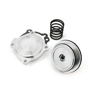 Ford C4 C5 Automatic Transmission Billet C Ratio Servo Piston Kit Silver