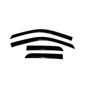 Avs 11 18 Ford Explorer Ventvisor Outside Mount Window Deflectors 4pc Smoke
