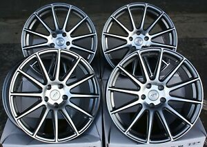 18 Alloy Wheels For Ford Mondeo Mk Mk4 Mk5 Fusion Transit Connect Ayr 02 Gmp