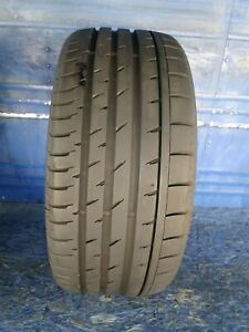 1 Continental Sport Contact 3 245 35 Zr19 Bmw With 9 32nd Tread Left 93 Y
