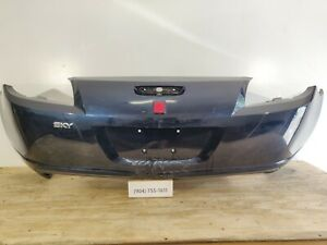 Oem 2007 2010 Saturn Sky Base redline Rear Bumper Cover