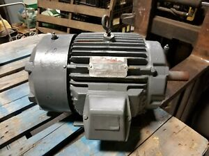 Reliance 5 Hp Electric Ac Motor 575v 1165 Rpm 3 Phase 215t Frame 1 3 8 Dia